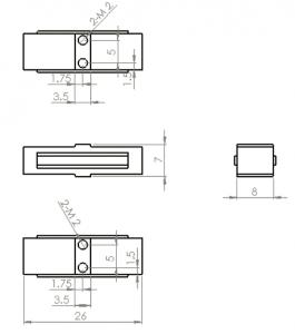 AP340 Dimensions