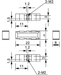AP350B Dimensions