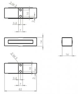 AP830 Dimensions