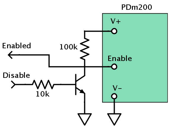 PDm200 Miniature High Voltage Amplifier -