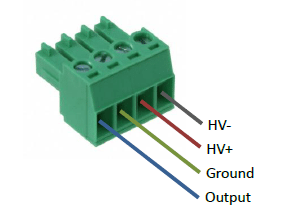 PD200 Screw terminal connections