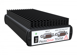 TD250 +/-250V six channel amplifier for driving piezoelectric tube actuators