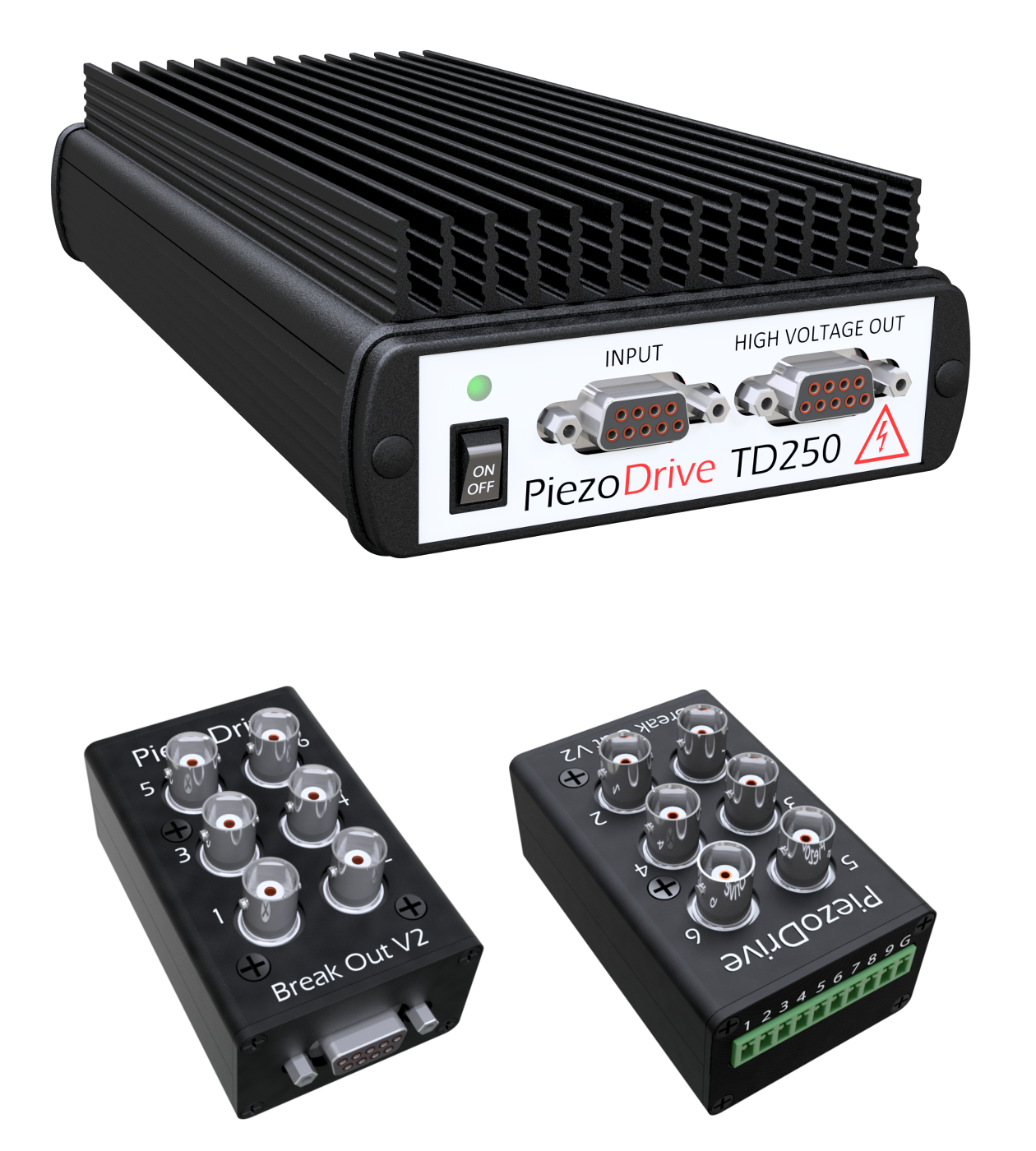 TD250 Amplifier and Breakout Boxes