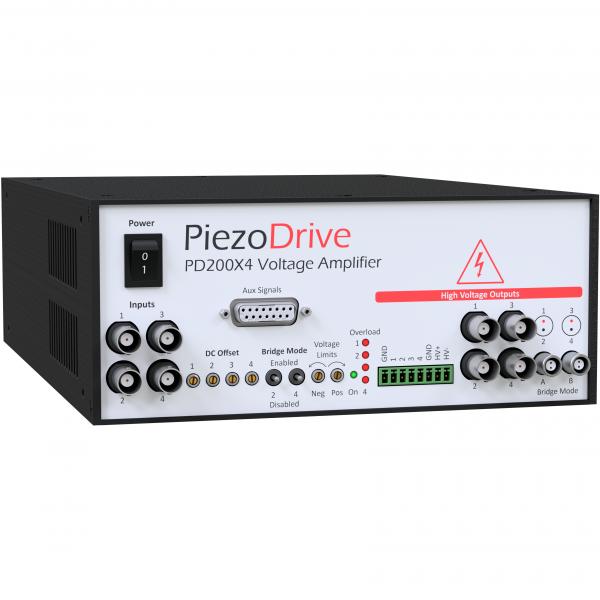 PD200X4 Four Channel Power Amplifier -