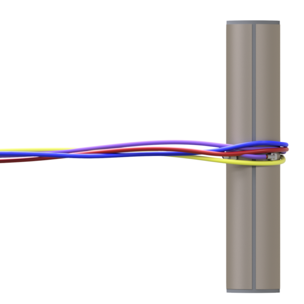 Horizontal Tube Wiring -